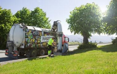 Renovasojnsbil for avfallssug