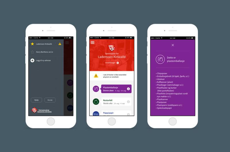 Tømmeplan-app iphone
