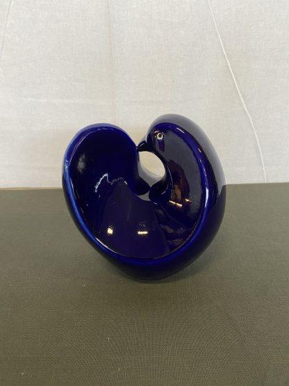 Blåfarveværket porselensfugl 1