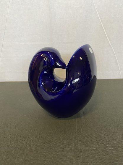 Blåfarveværket porselensfugl 3