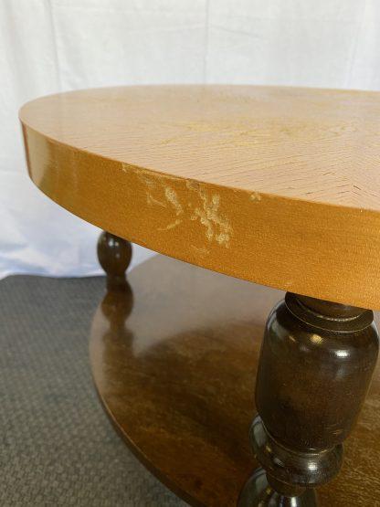 Vintage rundt bord 1