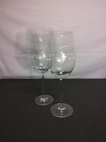 Krystall vinglass 2 stk