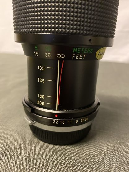 Olympus Vivitar objektiv 1:3.8/75-205mm 3