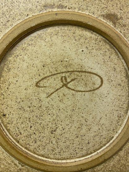 Brunt keramikkfat 4