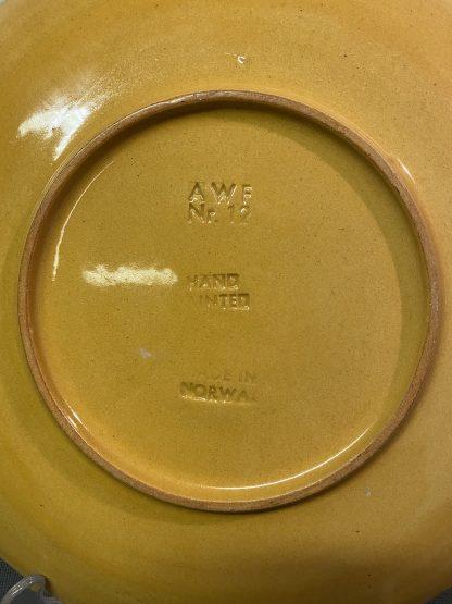 Håndmalt keramikkfat 2