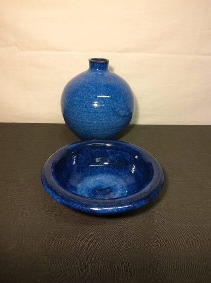 Keramikk vase og skål av Jette Andersen