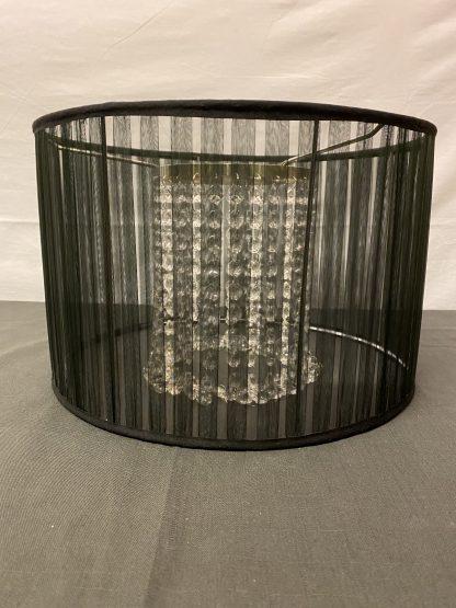 Moderne taklampe sort