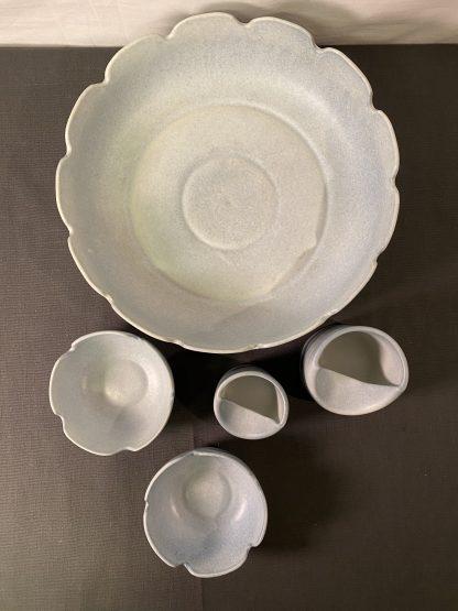 Porselenssett fra Frankrike 1