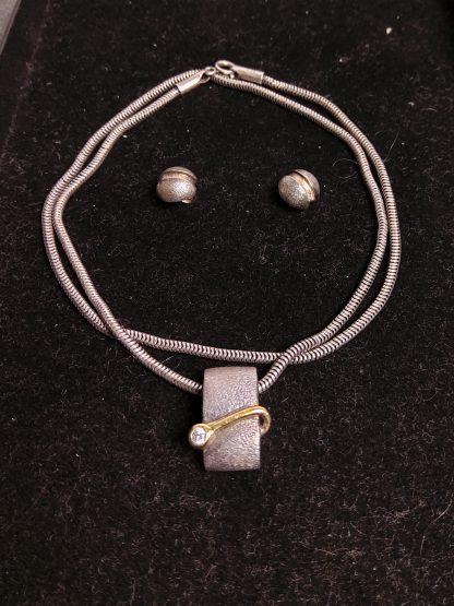 Smykke og øredobber PAN 925 sølv 1