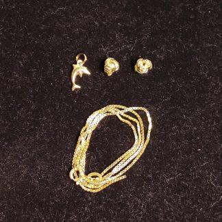 Smykker i gulldublet