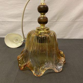 Vintage taklampe i glass 5