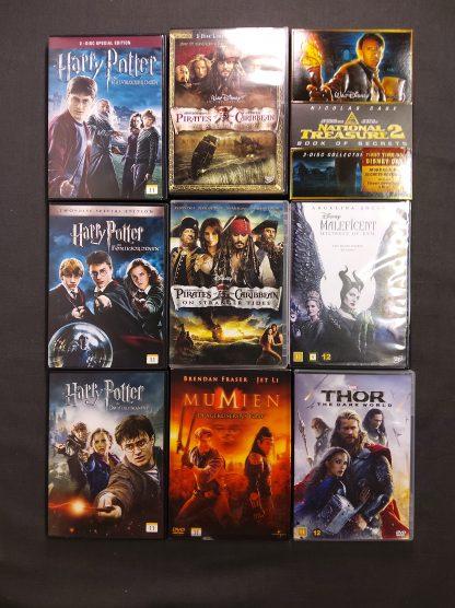 DVD-pakke aldersgrense 11 år 1