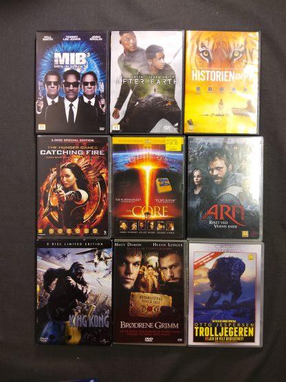 DVD-pakke aldersgrense 11 år 2