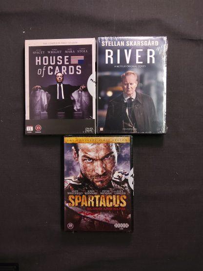 DVD-pakke voksen 14 filmer 3 serier 1