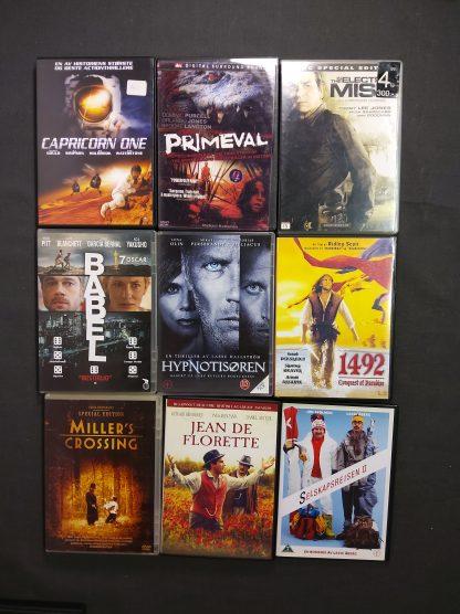 DVD-pakke voksen 14 filmer 3 serier 2