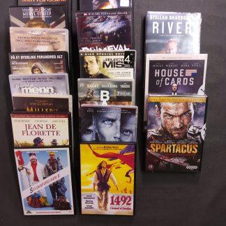 DVD-pakke voksen 14 filmer 3 serier