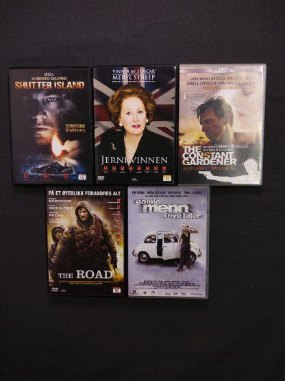 DVD-pakke voksen 14 filmer 3 serier 3