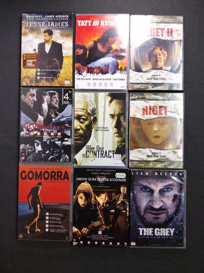 DVD-pakke voksen 23 stk 1