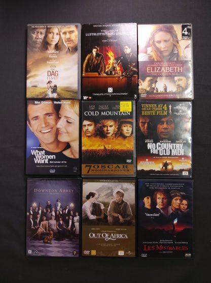 DVD-pakke voksen 23 stk 2