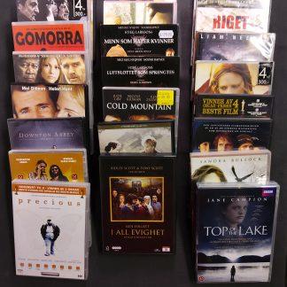 DVD-pakke voksen 23 stk