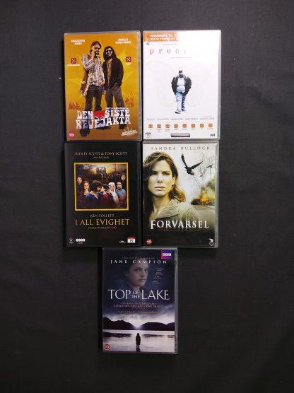 DVD-pakke voksen 23 stk 3