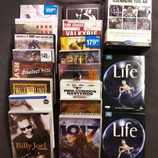 Filmpakke historiske filmer og dokumentarer