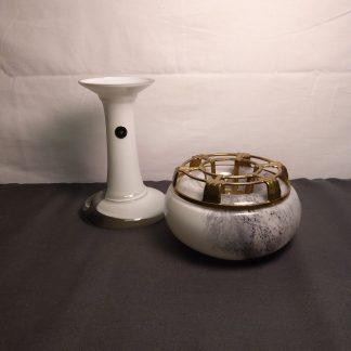 Richartz Art Collection håndblåst vase og telysholder