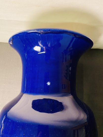 Stor blå vase 1