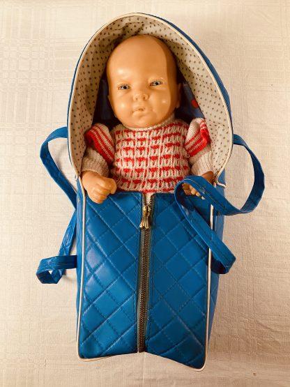 Dukke med sovebag fra 70-tallet 10