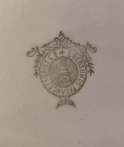Egersund vaskemugge fra 1900 tallet 5