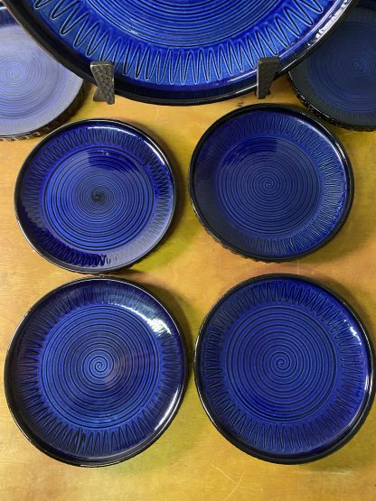 Graveren keramikk Spiralfat 1