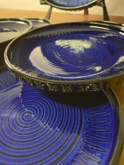 Graveren keramikk Spiralfat 2