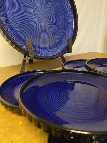 Graveren keramikk Spiralfat 7