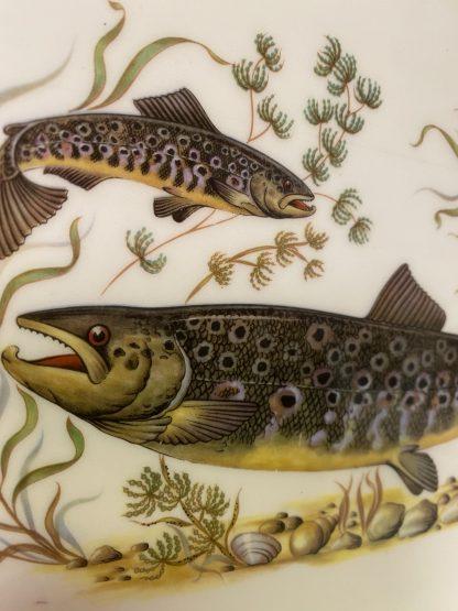 Grønt fiskefat fra Figgjo Flint Norway 4