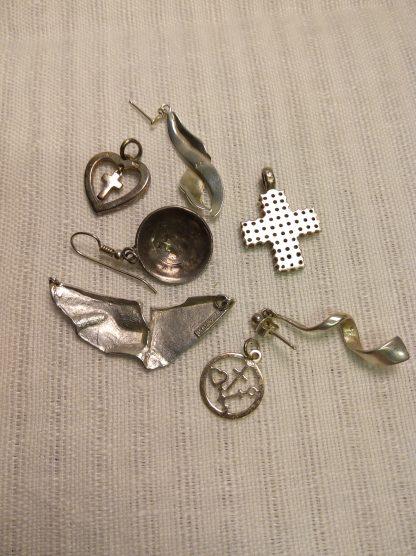 Assorterte anheng 925 sølv 1