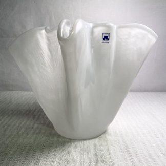 Tulipanvase fra Magnor glassverk