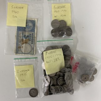 Norske mynter kroner