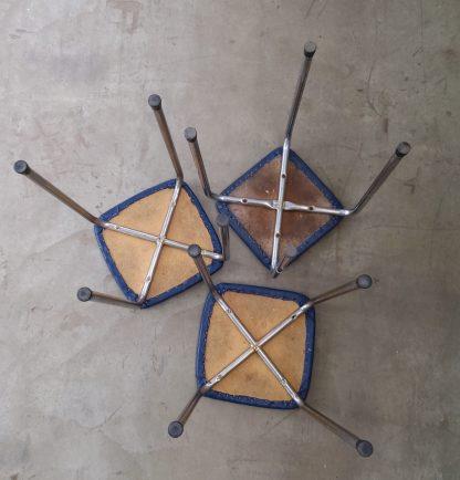 Rørstoler 3 stk fra1960 2