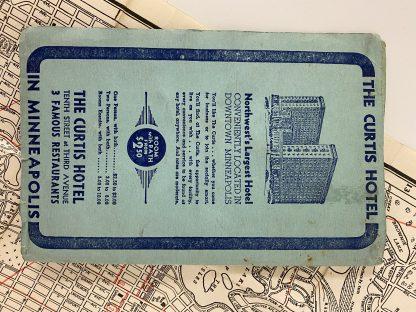 Vintage kart Minneapolis 3