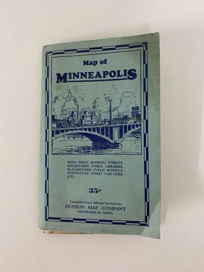 Vintage kart Minneapolis