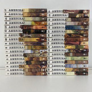 Amerika!-serien bok 1-34