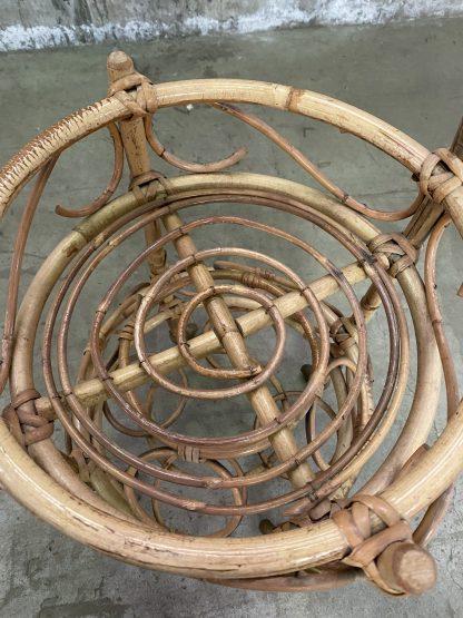 Liten barvogn i bambus 2