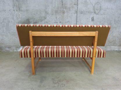 Retro sofa med puff 1