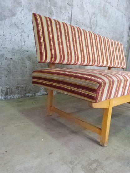 Retro sofa med puff 5