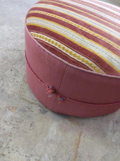 Retro sofa med puff 6