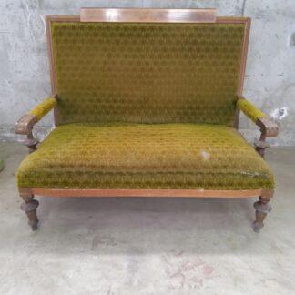 Antikk sofa fra tidlig 1900-tallet