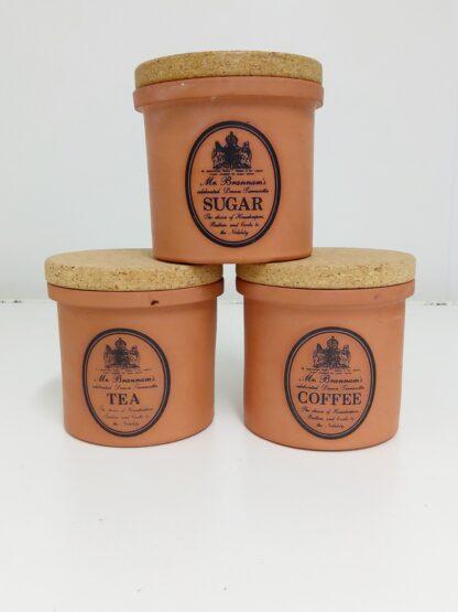C. H. Brannam vintage terracotta kjøkkenkrukker 2