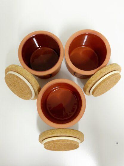 C. H. Brannam vintage terracotta kjøkkenkrukker 3