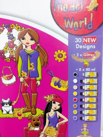 Fun & Fancy Model World vindusmaling 2