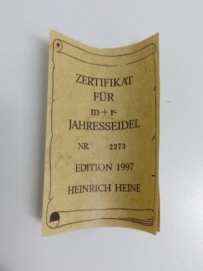 Retro Marzi & Remy 1997 edition Heinrich Heine 6